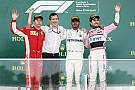 Hamilton gana en Azerbaiyán y Pérez logra el podio