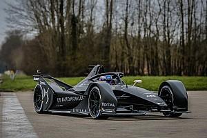 Formel E News Neues Formel-E-Auto fährt erstmals auf der Strecke