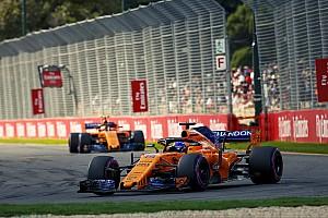 F1 突发新闻 迈凯伦的测试问题导致升级延误