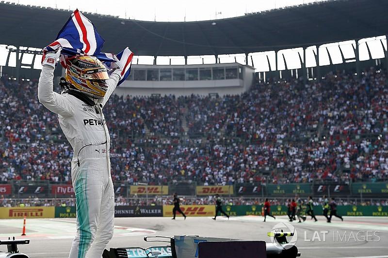 F1メキシコGP決勝:ハミルトン、パンクで一時最後尾後退も4度目の戴冠!