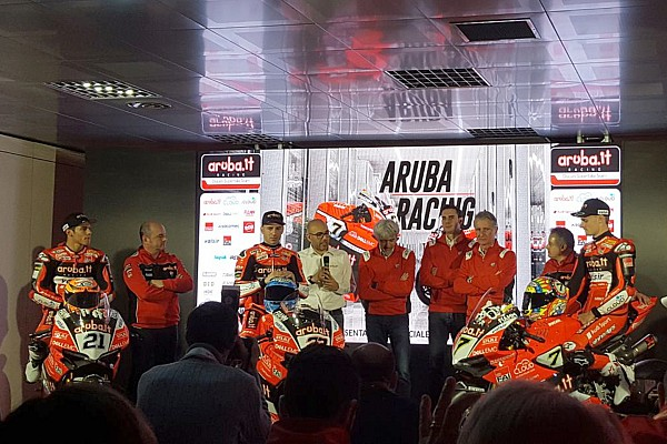 El equipo Ducati del WorldSBK se presenta en el año del adiós al motor bicilíndrico