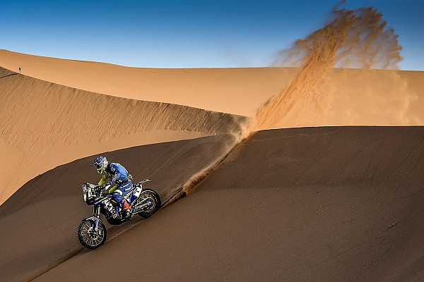 Cross-Country Rally Stage report Merzouga Rally: Sherco TVS maintains position, Santosh improves to P20