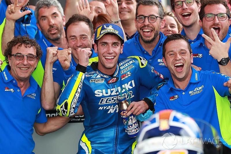 Officiel - Álex Rins prolonge avec Suzuki