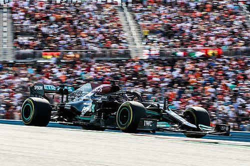 """Hamilton: """"Ik dacht even dat ik de race zou kunnen winnen"""""""