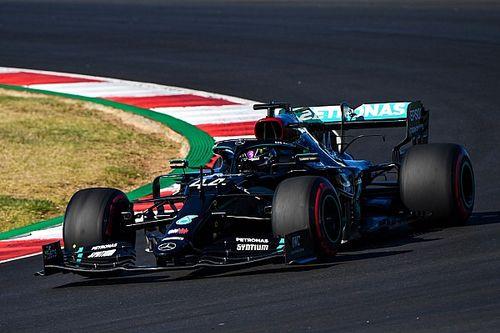 葡萄牙大奖赛排位赛:汉密尔顿力压博塔斯,夺下阿尔加夫首个杆位