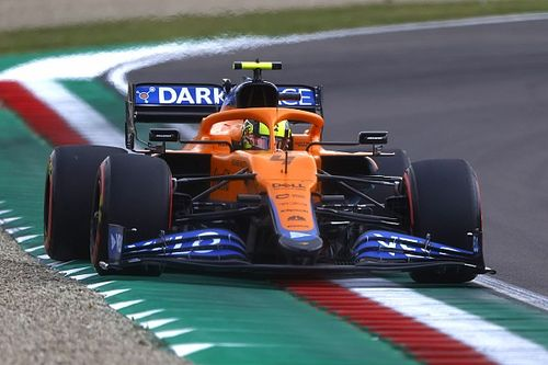 "Norris annoyed after he ""effed it all up"" in Q3 for F1 Emilia Romagna GP"