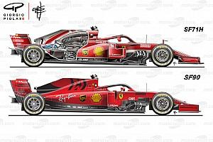 Технічний аналіз: 10 основних змін Ferrari SF90 відносно SF71H