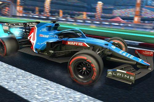 Les écuries de F1 débarquent dans Rocket League