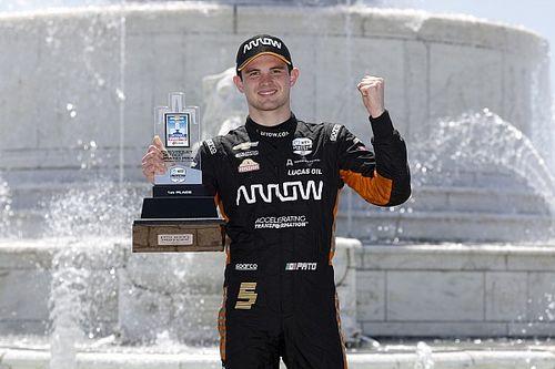 O'Ward dedicates Detroit IndyCar win to Rosenqvist and Ojjeh