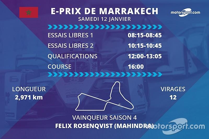 E-Prix de Marrakech : programme et diffusions TV