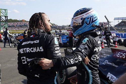 Mercedes, Bottas'tan Hamilton'ın aracını incelemesini istemiş