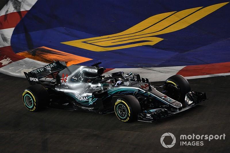 Hamilton wil enkele 2019-onderdelen al dit jaar proberen