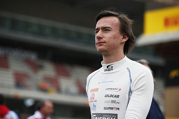 Formula V8 3.5 Tereshchenko moves to F3.5 with Teo Martin