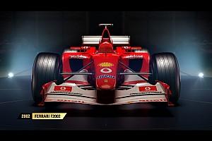 SİMÜLASYON DÜNYASI Son dakika F1 2017'de yer alacak klasik araçların tam listesi ortaya çıktı