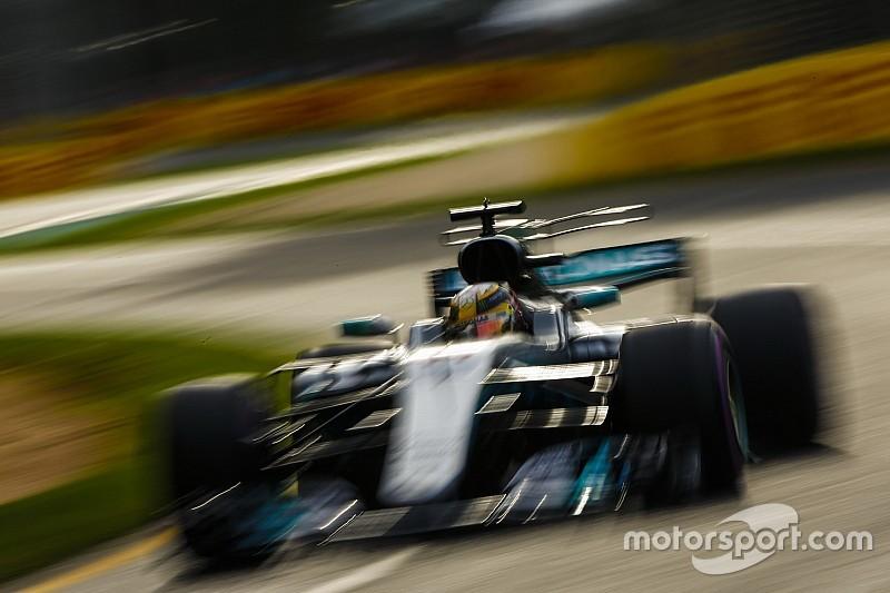 """Mobil """"monster"""" F1 tembus 8G di Melbourne"""