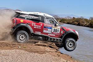 Cross-Country Rally Resumen de la etapa Triunfo de Terranova en los Autos