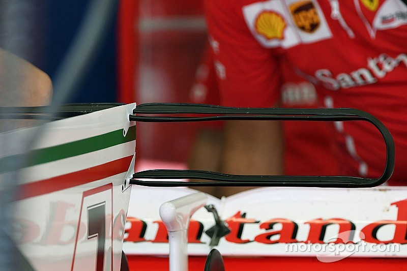 Технічний брифінг: подвійне Т-крило Ferrari