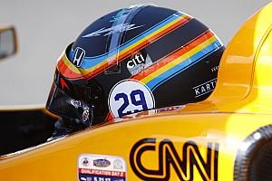 F1 Noticias de última hora Alonso volverá a llevar en Austin el diseño de casco que utilizó en IndyCar