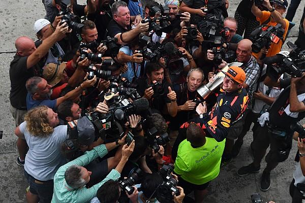 Formule 1 L'histoire derrière la photo - Flash Max capte toute l'attention