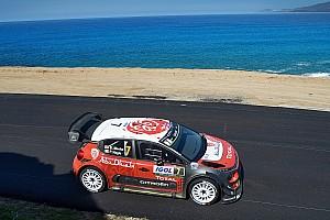 WRC Dagverslag WRC Corsica: Meeke bouwt kleine voorsprong op