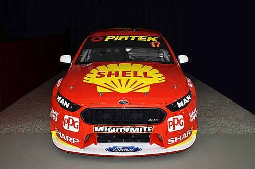 Special 50-year Shell livery for DJR Team Penske
