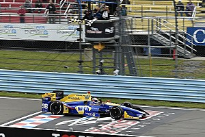 IndyCar 速報ニュース ワトキンスグレン決勝:運も味方したロッシ優勝。琢磨トラブルに泣く