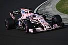Force India ai test di Yas Marina con Perez, Ocon e Mazepin