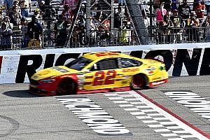 NASCAR Cup News NASCAR in Richmond: Joey Logano erhält harte Strafe