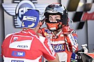 Lorenzo a voulu quitter sa