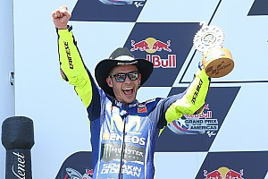 Rossi nouveau leader,