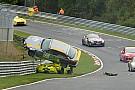 VLN Fotostrecke: Der spektakuläre Porsche-BMW-Crash bei VLN 8