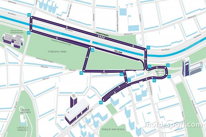 Formel E in Chile: Strecke für ePrix von Santiago präsentiert