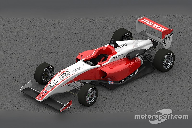 New USF2000 car to start testing in June