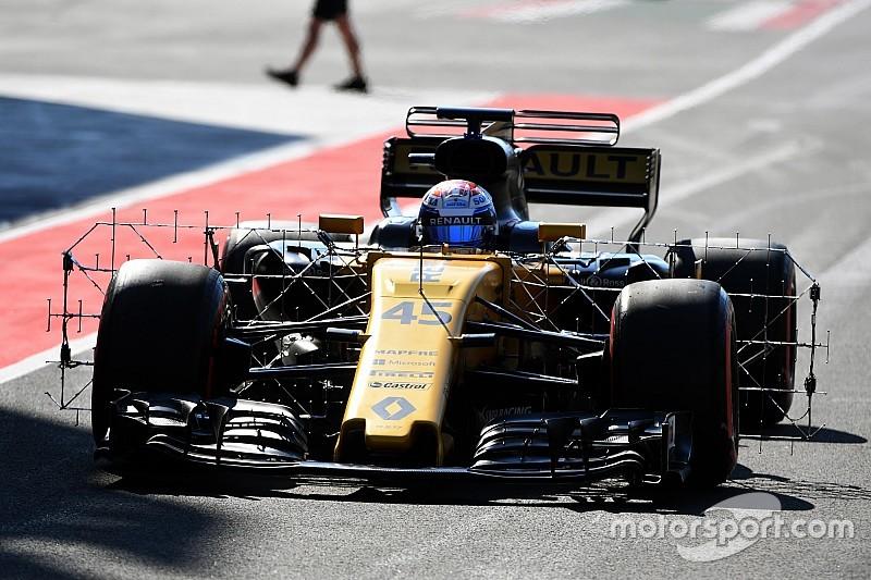 F1-Test 2017 in Budapest: Ergebnis, 1. Tag, Vormittag