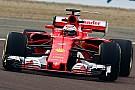 Formula 1 Raikkonen, SF70H ile ilk sürüşünden mutlu ayrıldı