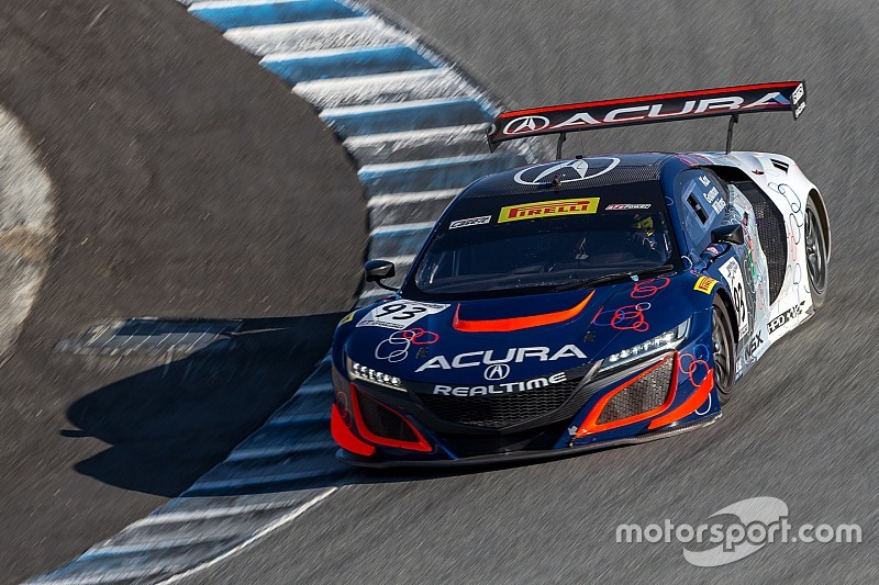 California 8 Hours: Acura beats Porsches to the top spot in qualifying