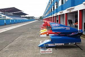 Formula 4 SEA Siaran pers Para pembalap tiba di Sentul, persiapan F4/SEA terus berlanjut