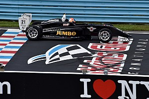 USF2000 Raceverslag USF2000 Watkins Glen: Dominante winst Van Kalmthout, Askew kampioen