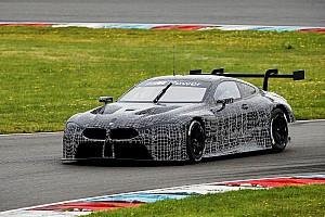 Autó BRÉKING Az első fotó: pályateszten a BMW M8 GTE