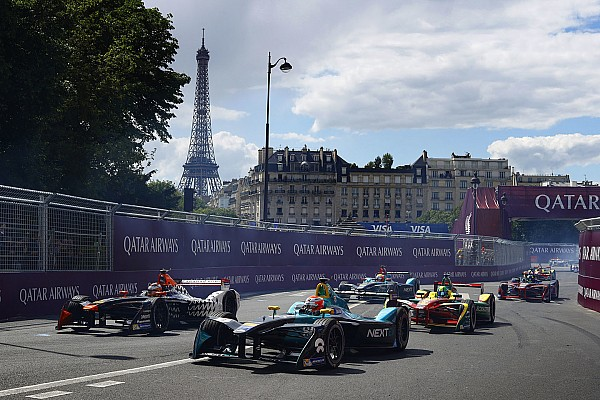 Les plus belles photos de l'ePrix de Paris