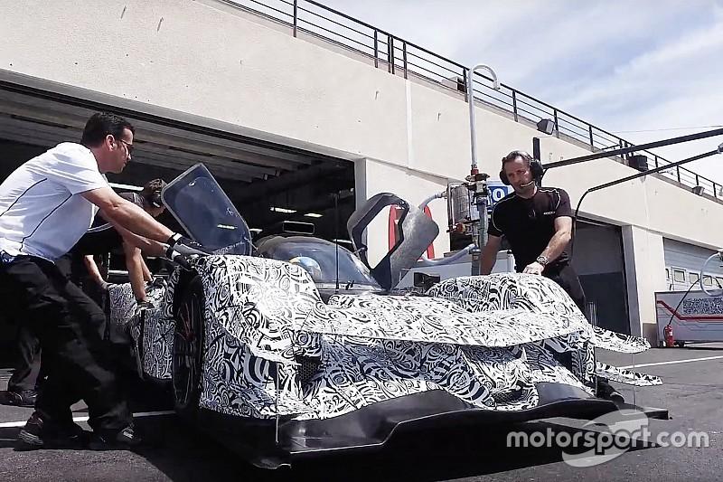 Новий прототип Acura DPi засвітився на тестах у Ле-Кастелле