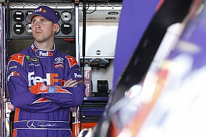 NASCAR Cup Interview Denny Hamlin's playoff advantage?