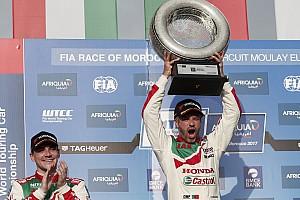 WTCC 速報ニュース 【WTCC】開幕戦優勝のモンテイロ「PPを獲ったことが重要だった」