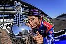 Сато провез по Японии трофей за победу в Indy 500