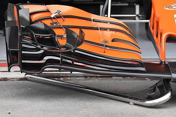 Técnica: El nuevo alerón delantero del McLaren que estrenó Alonso