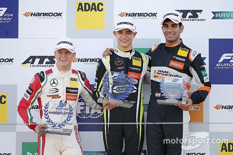 Zandvoort F3: Norris'ten çifte zafer ve üç podyum