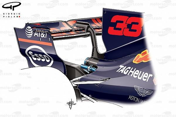 F1 Análisis técnico: la aerodinámica de Red Bull condicionó su GP de Bélgica