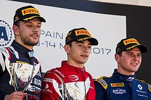 FIA F2 Race report F2 Barcelona: Leclerc menangi Feature Race, Gelael finis P16