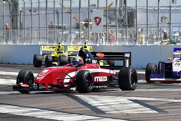 Pro Mazda St Pete Pro Mazda: Martin scores second win