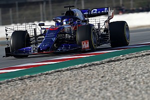 F1合同テスト4日目午前:トロロッソ・ホンダのアルボンが再びトップタイム! レッドブルは7番手